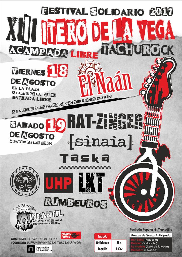 Festival Tachurock 2017