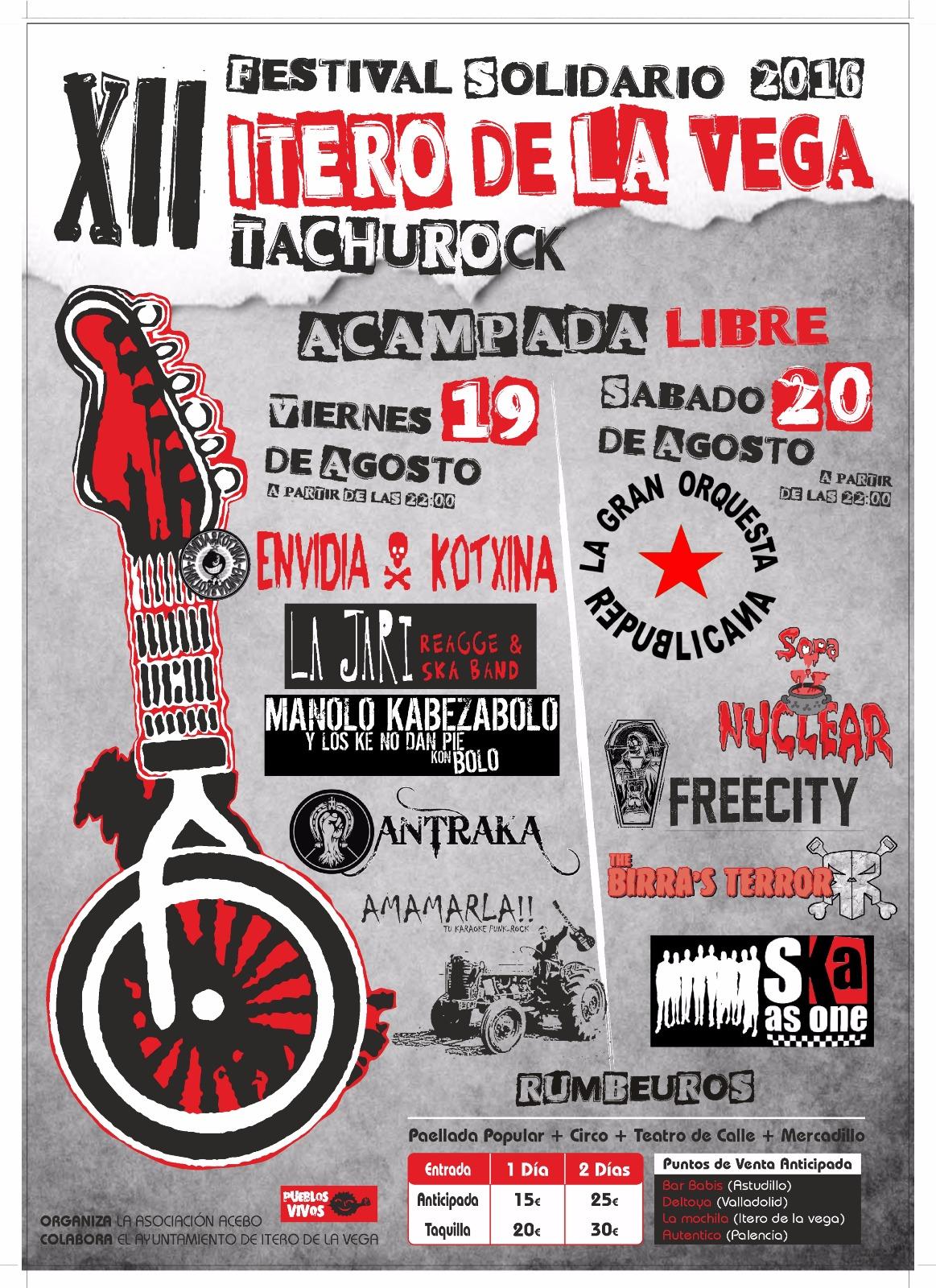 Festival Tachurock 2016
